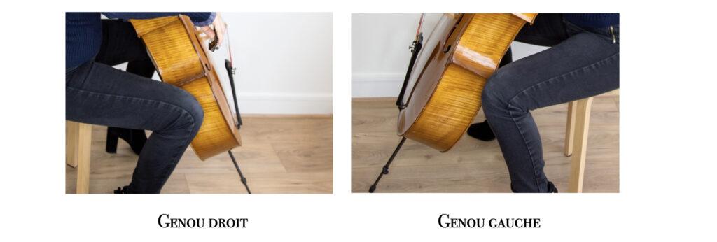 Position des genoux